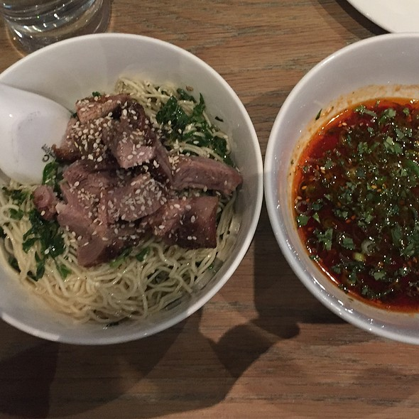 Lamb Tsukemen @ Momofuku Noodle Bar