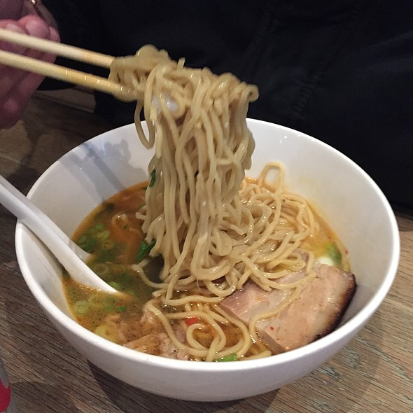 Pork Ramen @ Momofuku Noodle Bar