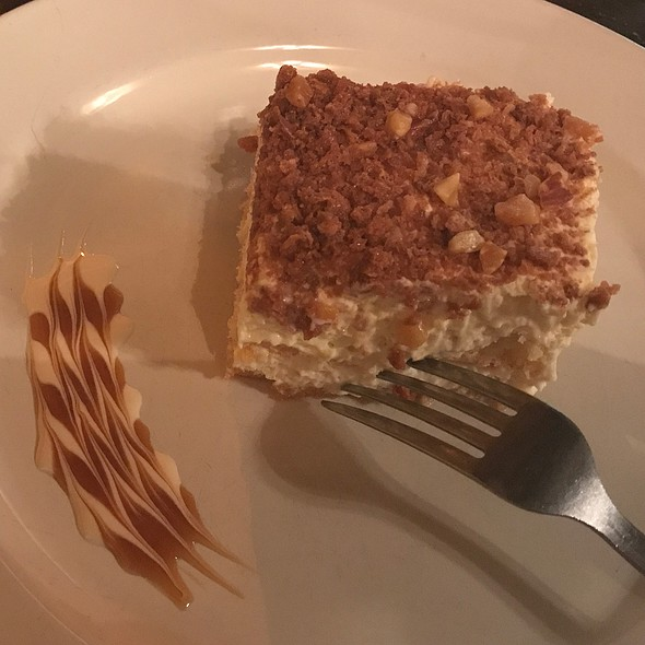 Toasted Almond Cream Cake