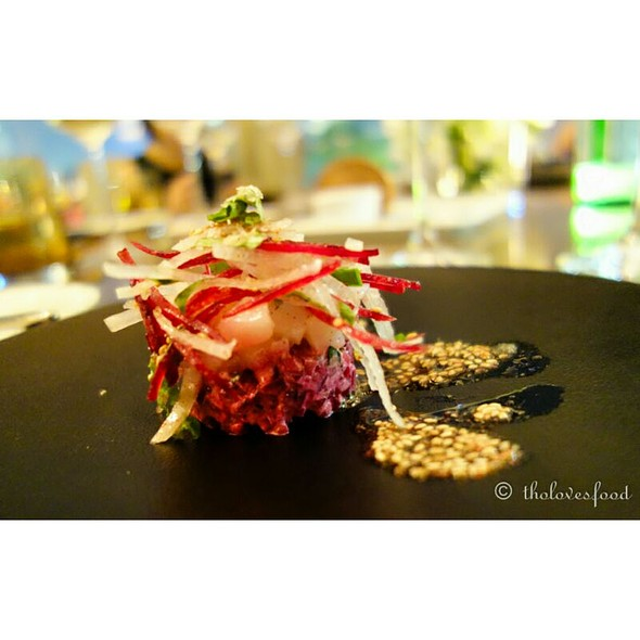 Beetroot And Scallop @ French Grill - JW Marriott Hotel Hanoi