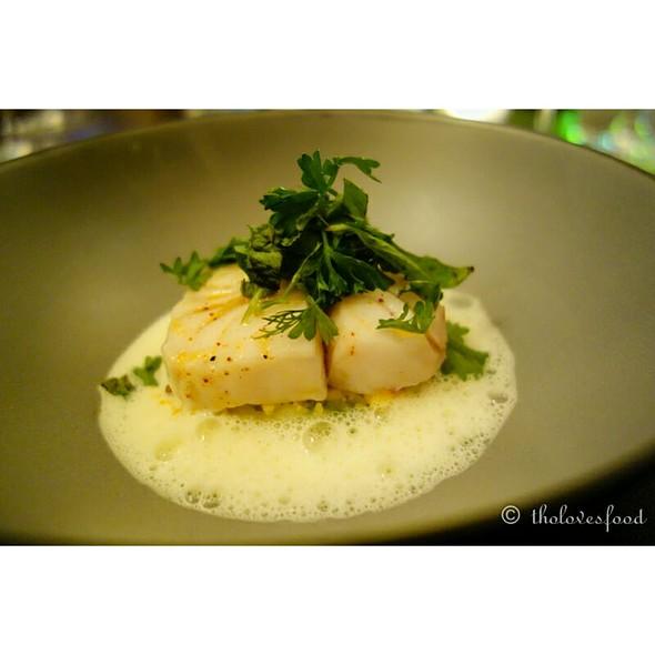 Steamed Cod @ French Grill - JW Marriott Hotel Hanoi