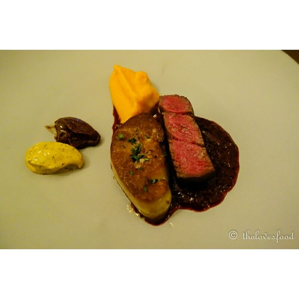 Wagyu Tenderloin And Foie Gras @ French Grill - JW Marriott Hotel Hanoi