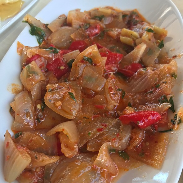 Onion Sautee @ İmamoglu Sucuk-Pastirma