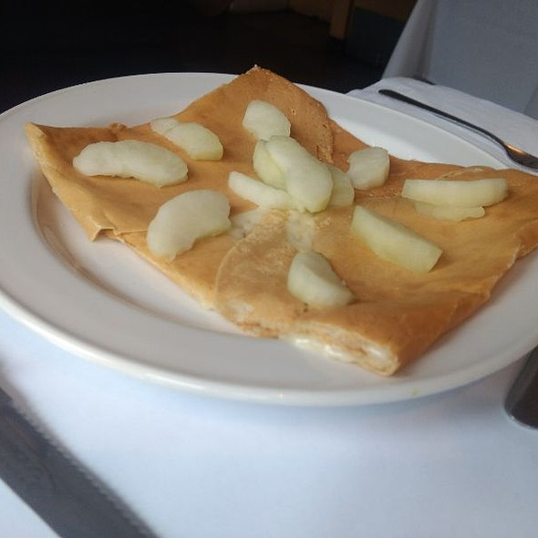 Apple And Cheese Crepe  @ Le Petit Château