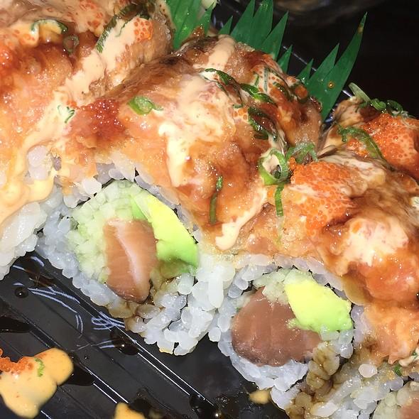 Crazy Salmon Roll @ Zen Ramen & Sushi