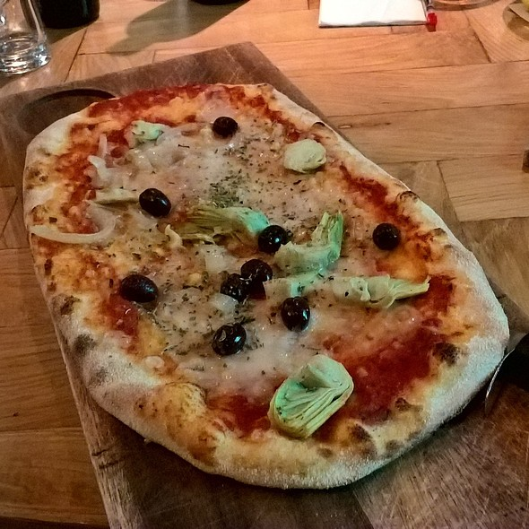 Vegan Pizza @ ASK Italian