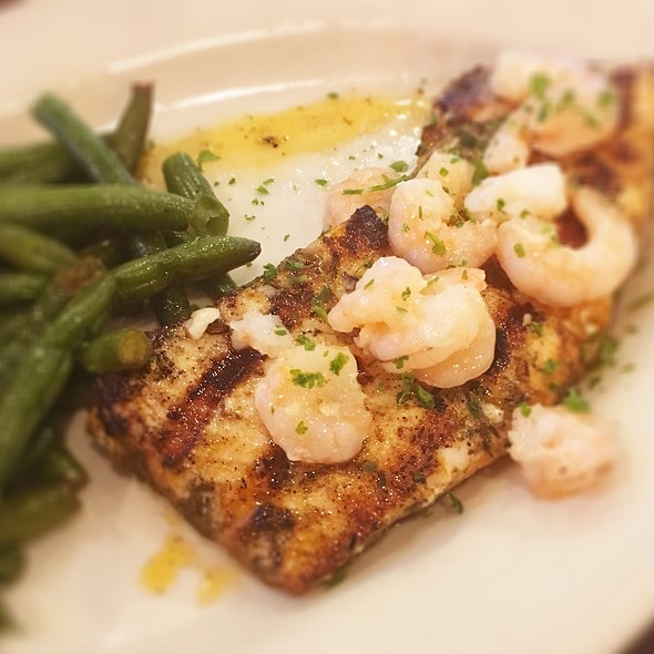 Grilled Amberjack @ Riccobono's Peppermill