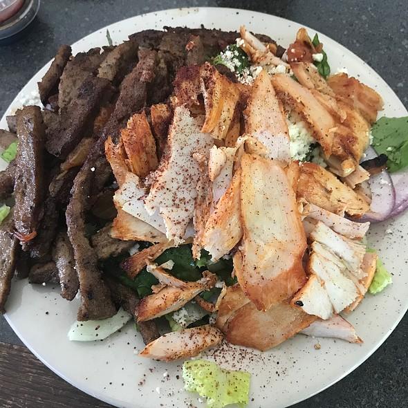 Gyro And Chicken Shwarma Salad