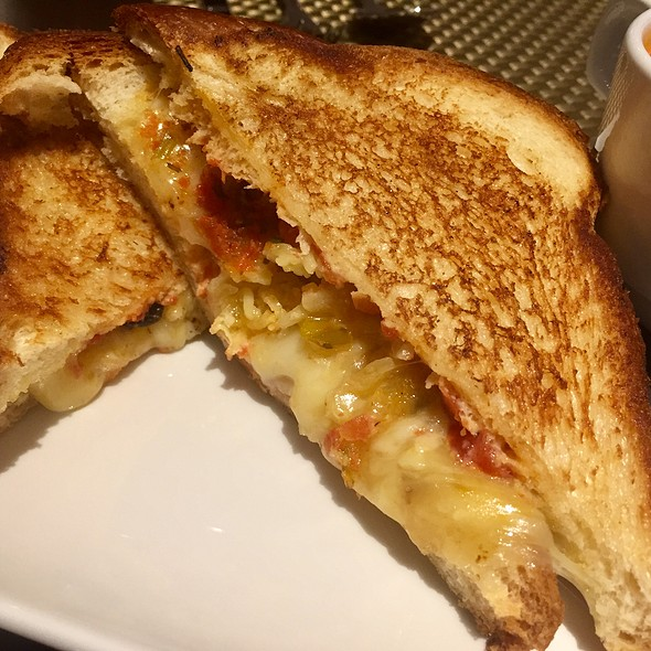 Grilled Pimento Cheese Sandwich with Tomato Jam