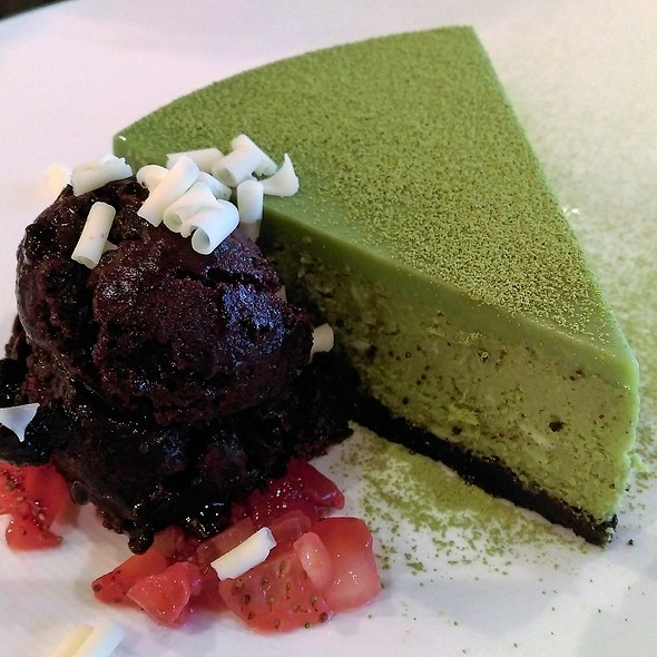 Oreo Green Tea Cheesecake