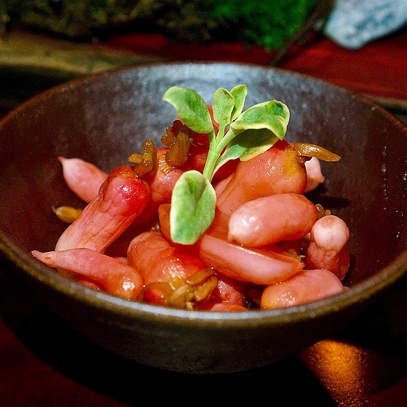Japanese pickled baby radishes