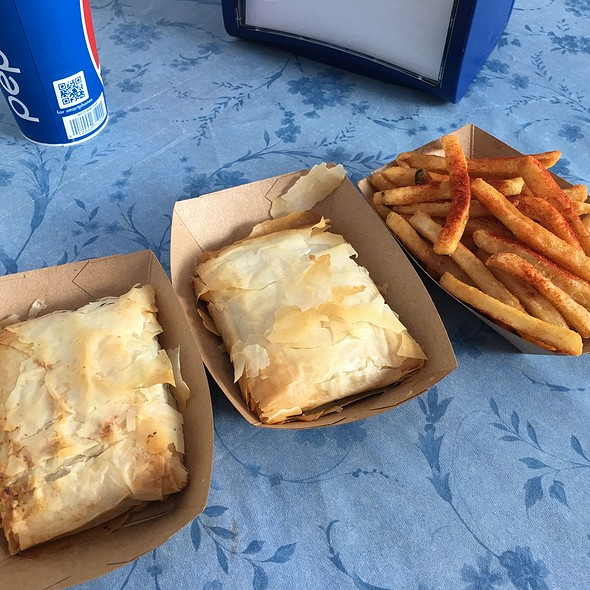 Meat Pies With Fries @ Nick's Gyros