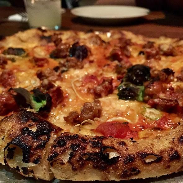 Lamb Sausage Pizza @ Gjelina