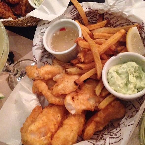 Fish and Chips @ Borough NY Comfort Food