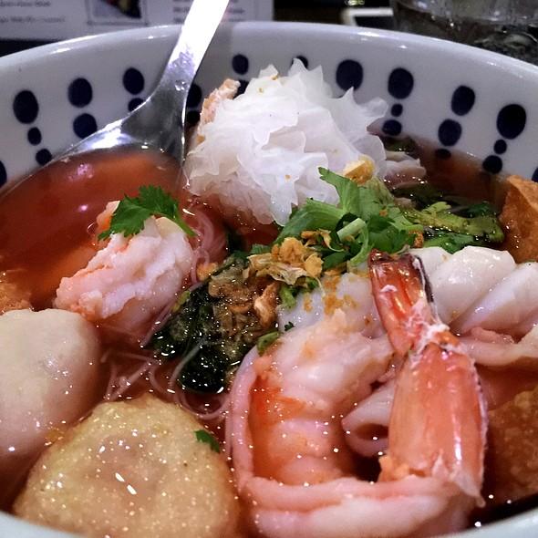 Seafood Soup @ Topaz Noodle Bar