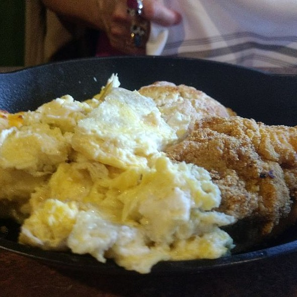 Catfish And Grits @ Blvd Bistro