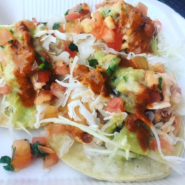 Shrimp Tacos @ Luna Llena Restaurant