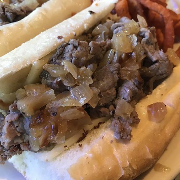 Roast Beef French Dip Sandwich