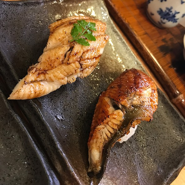 Eel And Unagi Nigiri