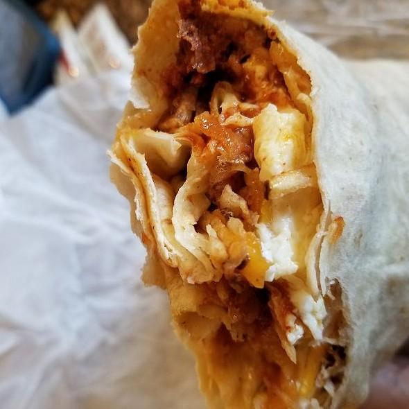 Chorizo Burrito @ Nate's Korner