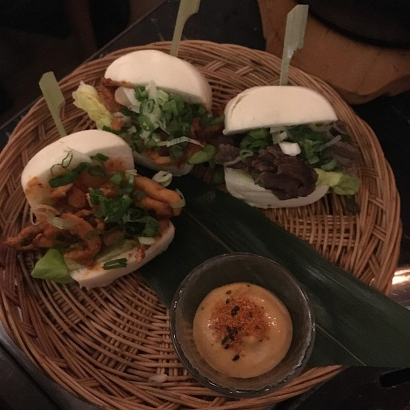 Trio Of Steamed Buns