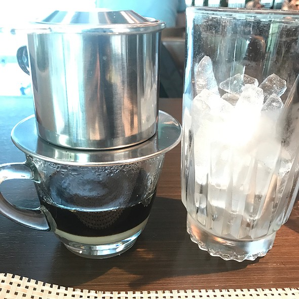 Iced Vietnamese Drip Coffee