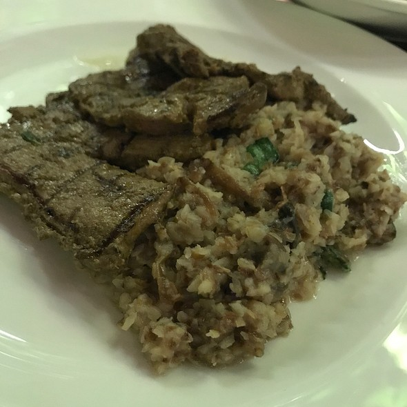 Lamb With Buckwheat Risotto