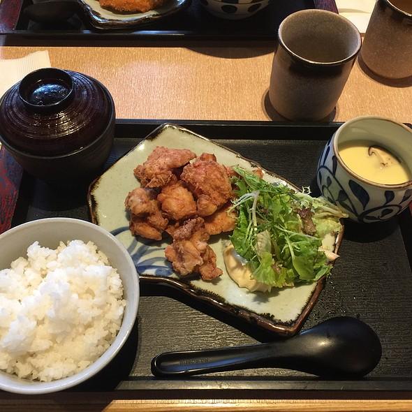 Fried Chicken Rice Set