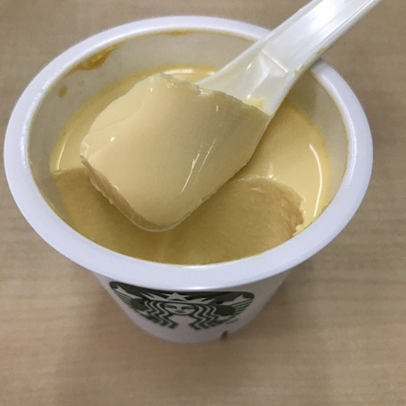 Custard Pudding @ STARBUCKS COFFEE