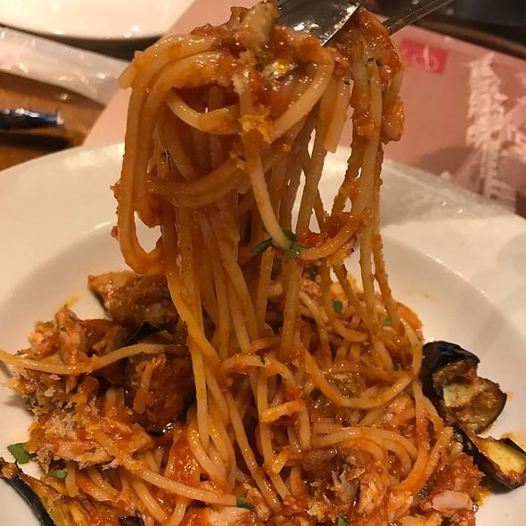 Pasta with Eggplant & Tomato