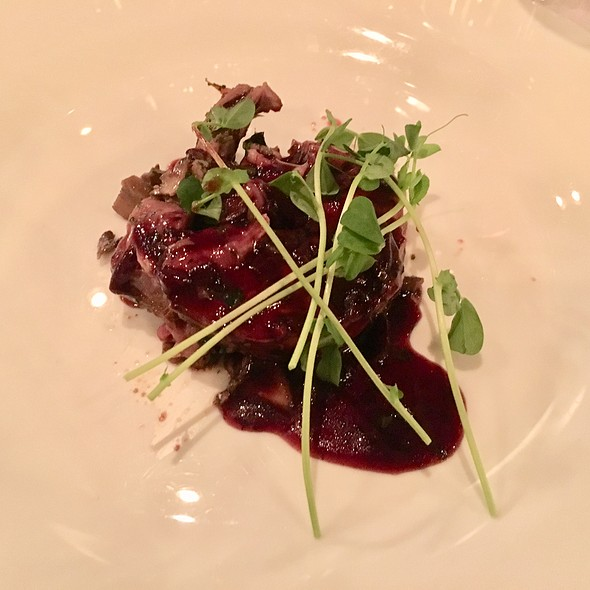 Mushroom Stuffed Lamb @ Brasserie Provence