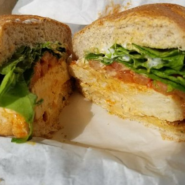 Vegan Chicken BBQ Sandwich