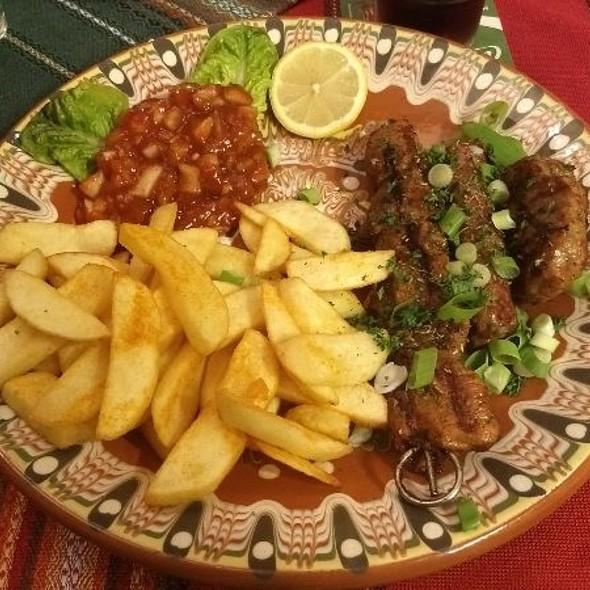 Balkan Grillteller @ Balkan Restaurant