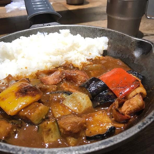 揚げナスベーコンのカシミール風カレー @ キャンプエクスプレス 相鉄ジョイナス店