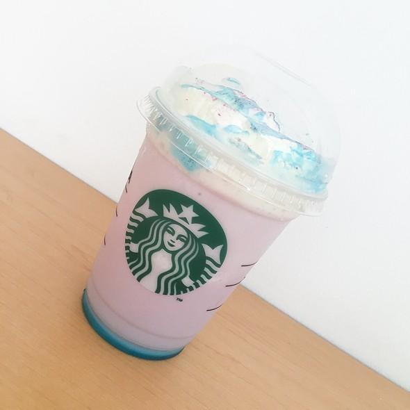 Nebula Cosmic Frappuccino @ Starbucks Coffee