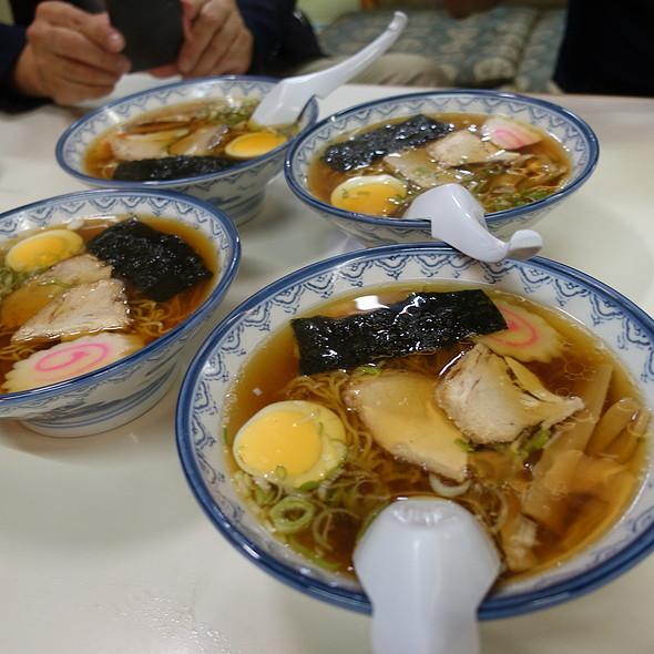 千秋麺(半) @ そば処紀文