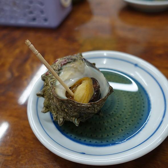サザエ煮 @ 永楽食堂