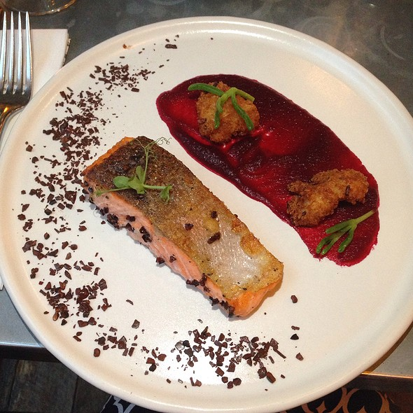24-Hour Cacao Pulp Marinated Roast Sea Trout