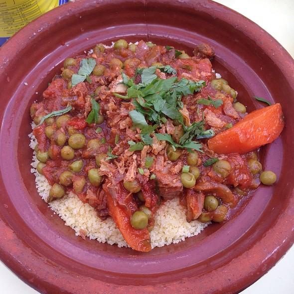 Lamb & Green Peas Tagine @ Comptoir Libanese, Broadgate Circle, London