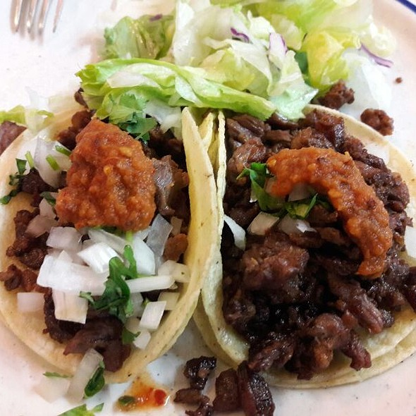 Carne Asada Tacos @ The Brite Spot Diner