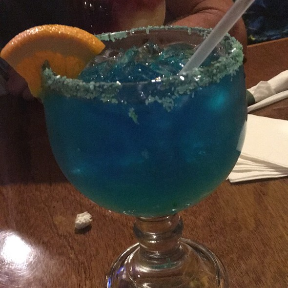 Blue Margarita @ Agave Loco Mexican Grill