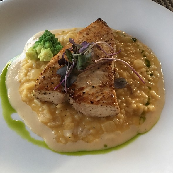 Swordfish And Pumpkin Risotto @ Market to Table Restaurant