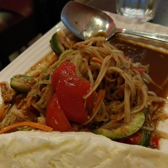 Lao Style Papaya Salad