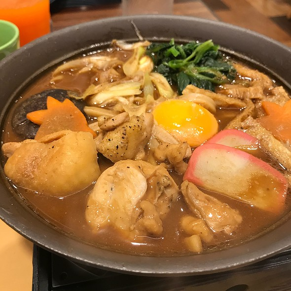Chicken Miso Hotpot Japanese Nabe