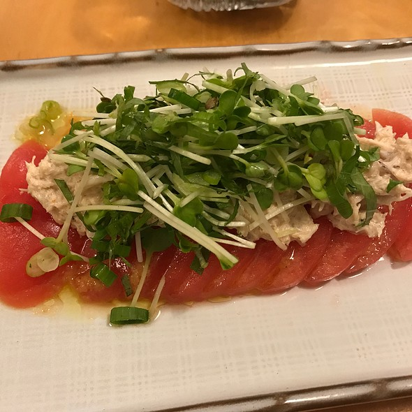 Tomato And Crab Salad