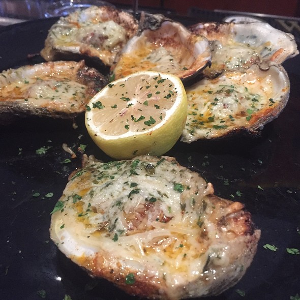RC's Chargrilled Oysters with Garlic Butter and Parmesan