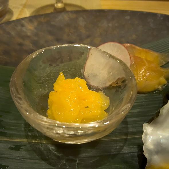 Japanese Sweet Baby Shrimp with Hokkaido Uni