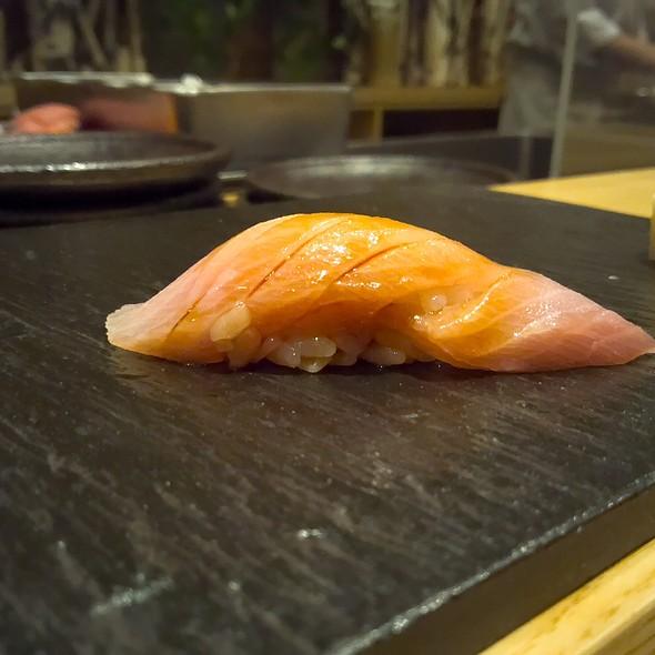 Premium Wild Hamachi (Yellowtail) Nigiri