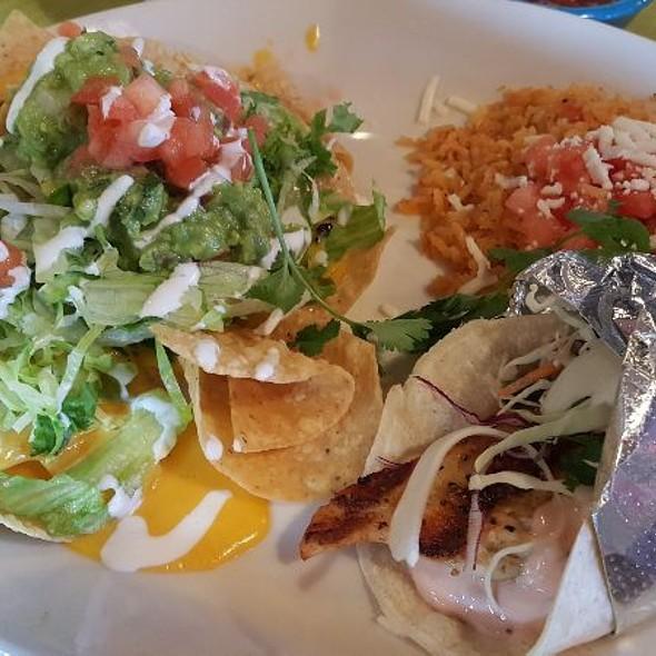 Baja Fish Taco @ Pappasito's Cantina