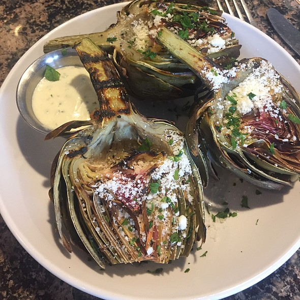 Grilled Artichoke With Lemon Ailoi